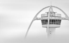 Картинка полет, туман, управление, вышка, аэропорт, photography, смотровая, jin mikami