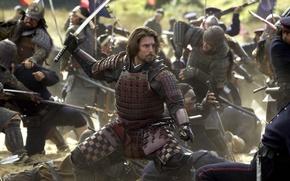 Обои битва, Том Круз, драма, Tom Cruise, The Last Samurai, Последний Самурай