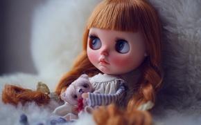 Картинка игрушки, кукла, рыжая