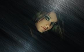 Картинка фотошоп, Девушки, тёмные, абстакция