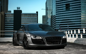 Картинка Audi, City, wheels, V10, ADV1, R8