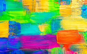 Картинка краска, colors, texture, paint, acrylic