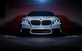Картинка BMW, Car, Front, F10, 550i, Ligth