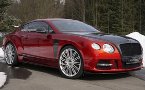 Обои Bentley, Continental, бентли, континенталь, Mansory