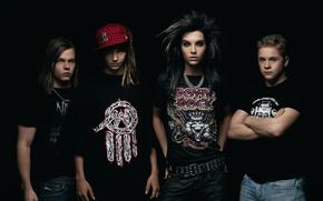 Обои rock, рок, alternative, scream, pop rock, Tokio hotel, поп рок, emo rock, Том Каулитц, Георг ...
