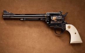 Картинка оружие, узоры, револьвер