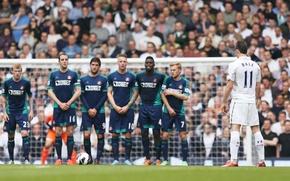 Картинка Англия, Спорт, Футбол, Football, Футболист, Tottenham Hotspur Football Club, Гарет Бейл, Gareth Frank Bale, Тоттенхэм …