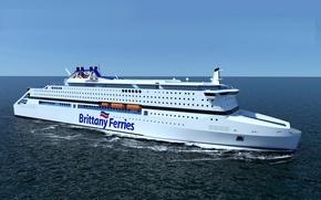 Картинка паром, Brittany Ferries, паромная компания