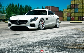 Картинка Mercedes Benz, AMG, Forged, Series, Vossen, Precision, GT S, 306, VPS