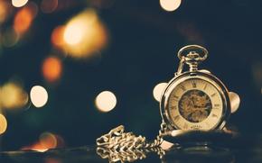 Картинка часы, стрелка, циферблат, цепочка