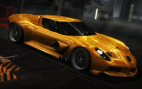 Картинка Mersedes, photoshop, Need for speed world, stayling