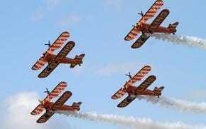 Картинка самолет, Team, Breitling, Кукурузник