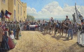 Картинка солдаты, VMI, May 15, The Civil War, Jackson\'s Funeral, Last Tribute of Respect, 1863