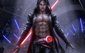 Обои fan art, sith, star wars, lightsaber