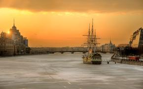 Картинка утро, Санкт-Петербург, Февраль, 2015