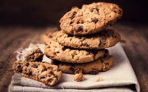 Обои ricetta cookies, delicious, cookie