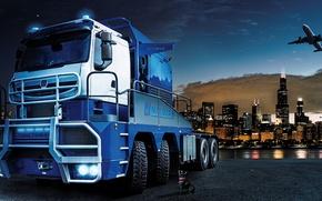 Картинка техника, грузовик, Nicolas Tractomas TR 8x8