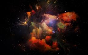 Обои космос, звезды, вселенная, space, Universe, background, stars, astral