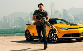 Картинка Transformers, Марк Уолберг, Mark Wahlberg, Трансформеры: Эпоха истребления, Cade Yeager, Age of Extinction