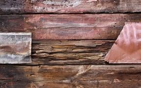 Картинка metal, wood, iron, nails, patern