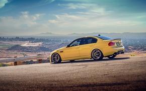 Картинка дорога, бмв, autowalls, BMW M3