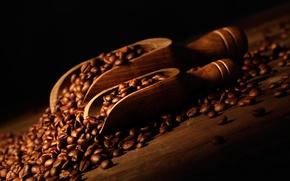 Обои мешок, кофейные зерна, bag, лопатки, coffee beans, shoulder blade