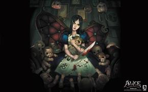 Обои Алиса в стране чудес, Alice Madness Returns, American McGee's Alice