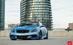 Обои Vossen Wheels, Ифинити, диски, wheels, auto, Infiniti, G37, машина, авто