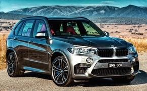 Картинка бмв, BMW, AU-spec, 2015, F15, X5 M
