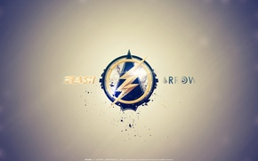 Картинка Hero, Arrow, Minimalism, Flash