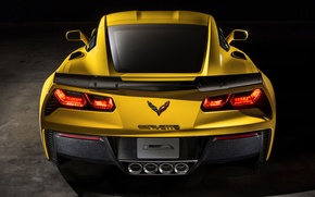 Картинка Corvette, Chevrolet, Stingray, 2014