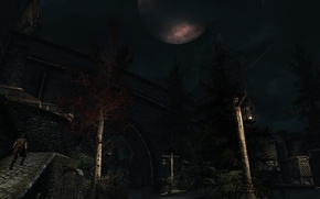 Картинка Ночь, Skyrim, Солитьюд, The elder scrolls