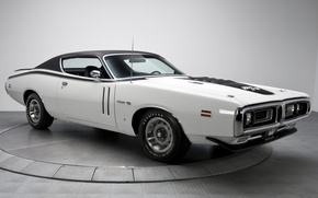 Картинка фон, Додж, Dodge, Charger, 1970, передок, Muscle car, Мускул кар, R T, Чарджер, 440, Six-Pack