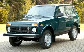 Картинка Lada, 4x4, export edition, лада, нива, джип, внедорожник, передок