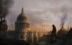 Картинка здание, лондон, арт, Assassin's Creed: Syndicate, Jacob Frye