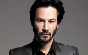 Картинка actor, man, face, Keanu Reeves