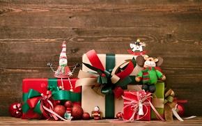 Картинка украшения, Новый Год, Рождество, подарки, Christmas, New Year, decoration, Merry