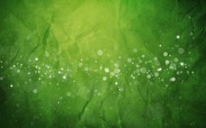 Картинка green, abstract, texture, bokeh, paper, gradiant, crumb