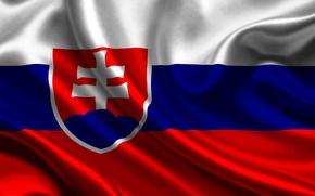 Картинка флаг, Словакия, slovakia