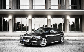 Обои фото, bmw, City, cars, auto, photography, photo, bmw m5, 530xd, стороение сздание, bmw f10
