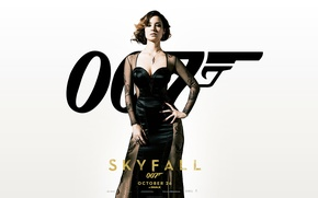 Картинка актриса, Skyfall, Беренис Марло, 007 Координаты «Скайфолл», Bérénice Marlohe