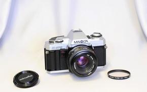 Картинка фон, камера, Minolta X-370