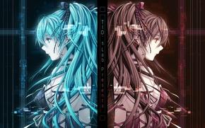 Обои miku, девушка, vocaloid, аниме