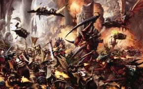 Картинка Warhammer, тираниды, dark angel, warhammer 40 000, tyranids, темные ангелы