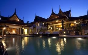 Картинка вилла, бассейн, Таиланд