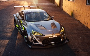 Картинка Toyota, Tuning, Performance, Sportcar, Spoiler, FR-S, Widebody Kit, Scion, Silver Mate