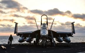 Картинка оружие, самолёт, FA 18E Super Hornet