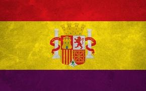Картинка обои, Флаг, Испания, республика, Флаг Испании
