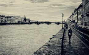 Картинка Италия, прохожие, Florence