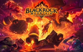 Картинка hearthstone, Hearthstone: Heroes of Warcraft, blackrock mountain